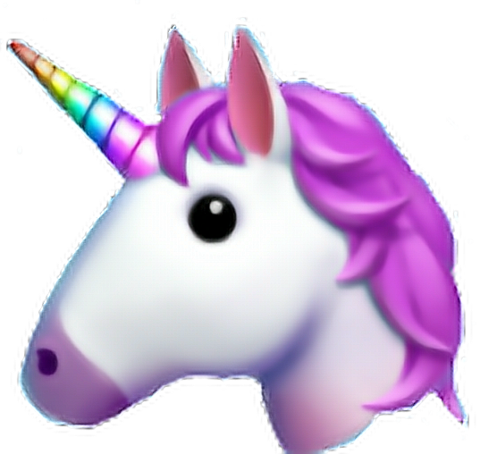 Sticker Unicornio Unicorn Emoji Whatsapp