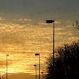 sky skyscape sunset sunrise sun