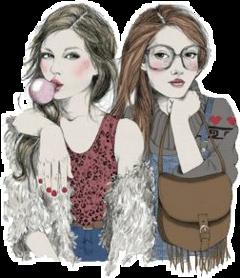 girls girl friendship freetoedit