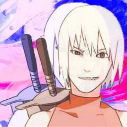 freetoedit naruto_shippuuden suigetsu anime equipo_taka