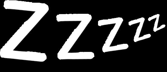 zzzzz sleepy text freetoedit