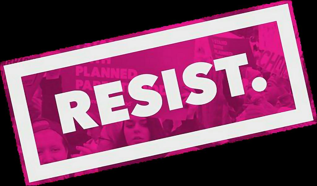 #pinksticker #pinkstickers #pink #resist #pinkout #stickers #FreeToEdit