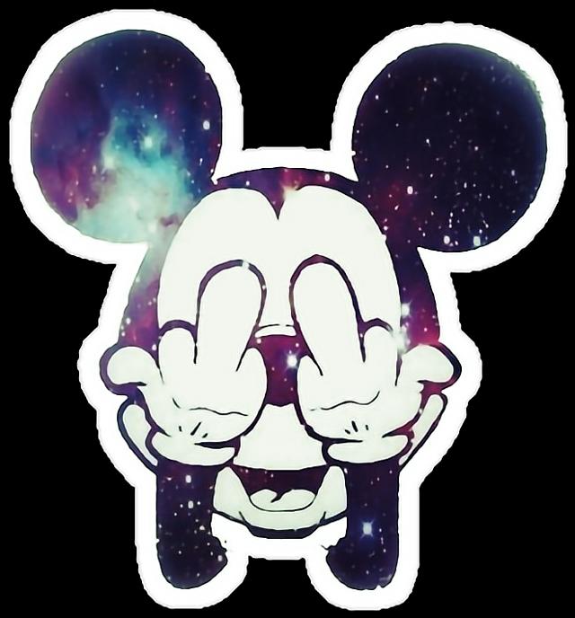 #fuck #fuckyoubitch #fuckyou #fuckyouall #seefuck #goaway #gotohell #mouse #mickeymouse #mickey #disney #waltdisney #disneystyle #space #cosmic