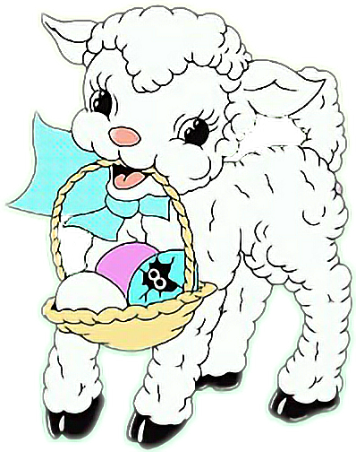 #easter #sheep #eastereggs #easterbasketremix #easterstickers #monday