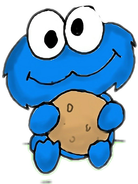 # cookie monster #POLAND #sweet #koffam ciasteczka