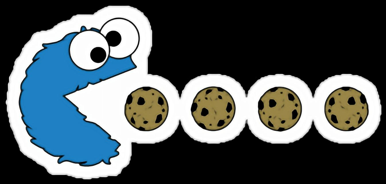 #cookies #cookiemonster #sesamestreet #videogame #game #pacman #gamer #sticker #freetoedit
