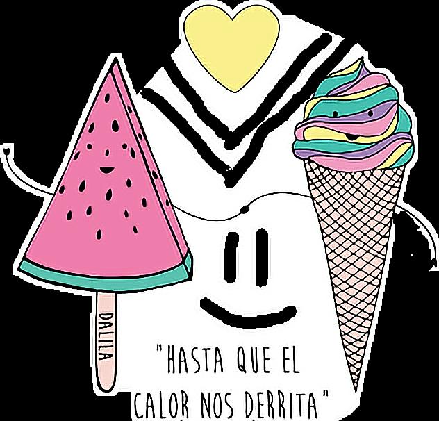 Helado Icecream Yum Food Kawaii Tumblr Frases Freetoedi