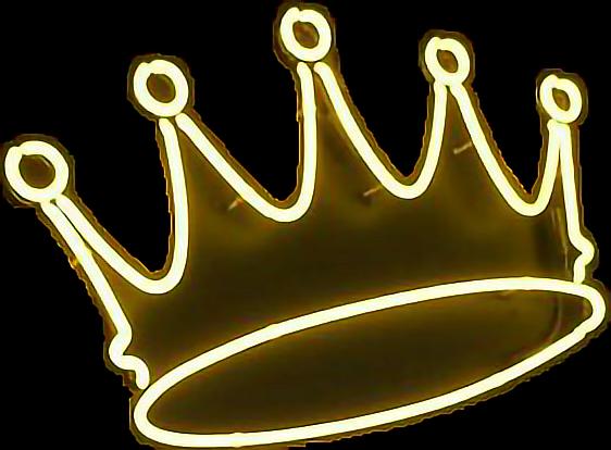 corona neón reina rey realeza queen queens freetoedit