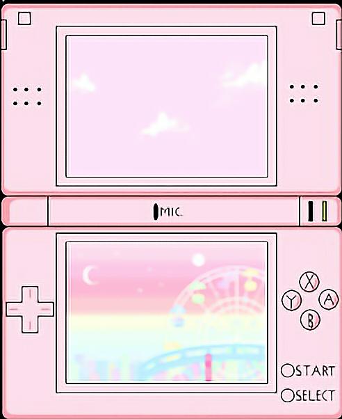 nintendo games kawaii aesthetic tumblr NintendoDS pink...