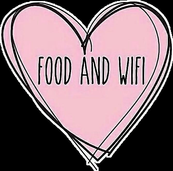 #heart #food #wifi