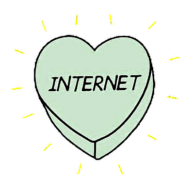 #heart #internet #green #aesthetic #tumblr #freetoedit