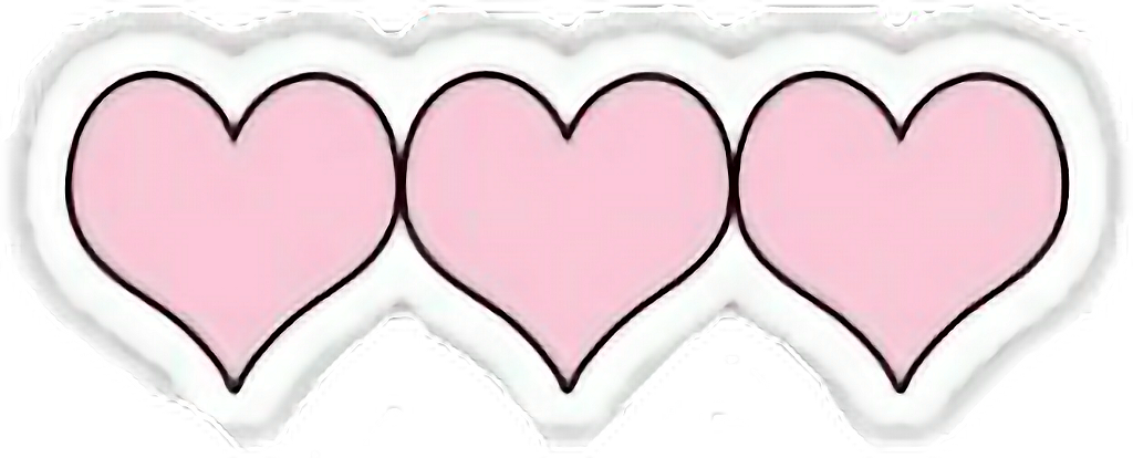 #heart #hd #overlays #tumblr #png #bynisha #pink #freetoedit