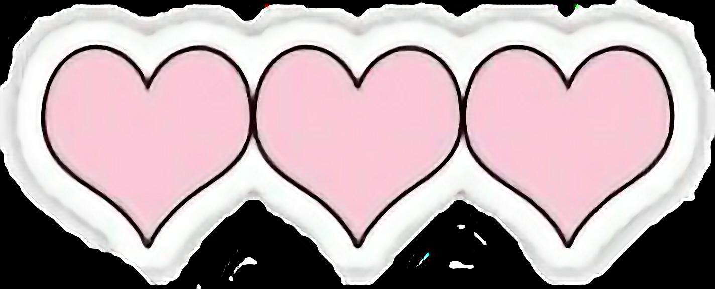 #heart #hd #overlays #tumblr #png #bynisha #pink #freetoedit