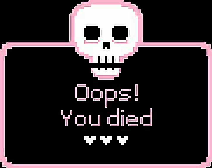 #pink #black #pixel