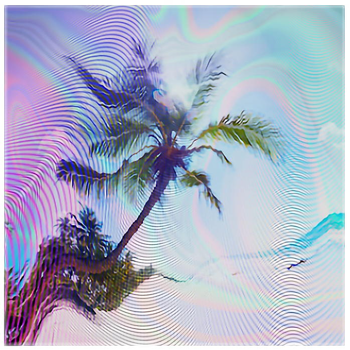 Glitch Holographic Tumblr Vhs Nature Art Background Wal