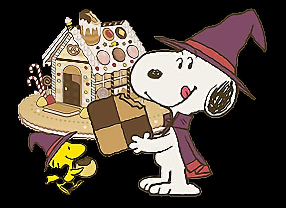 snoopy halloween cute cookies woodstock candy wizard