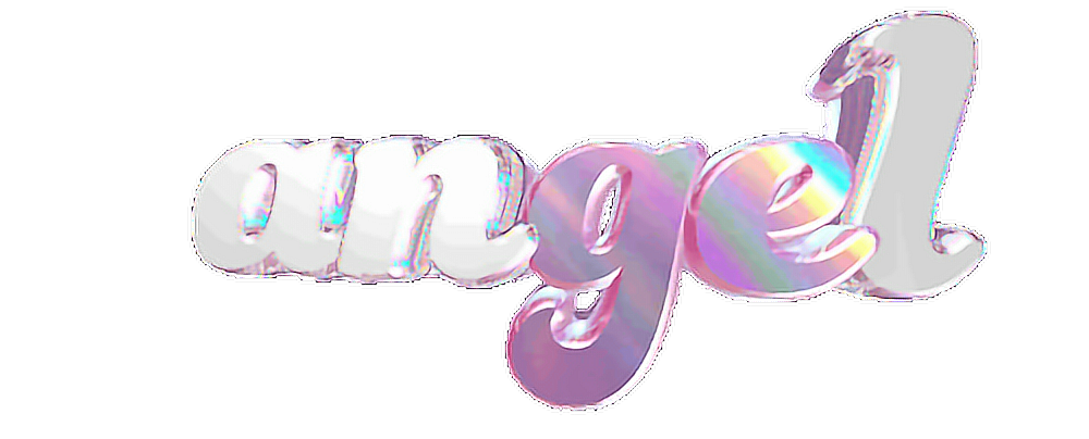 #angel #text #3d #cool #holographic #tumblr#freetoedit