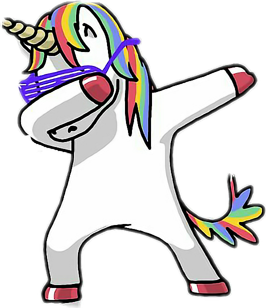 Sticker Unicornio Dap 248408887013212 on kawaii unicorn