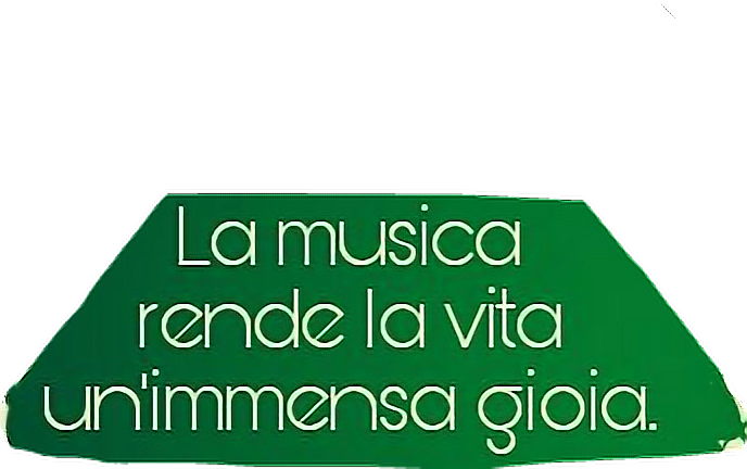 #joy #gioia #music #saying #green #background #notes #play #unicorn #greenlove