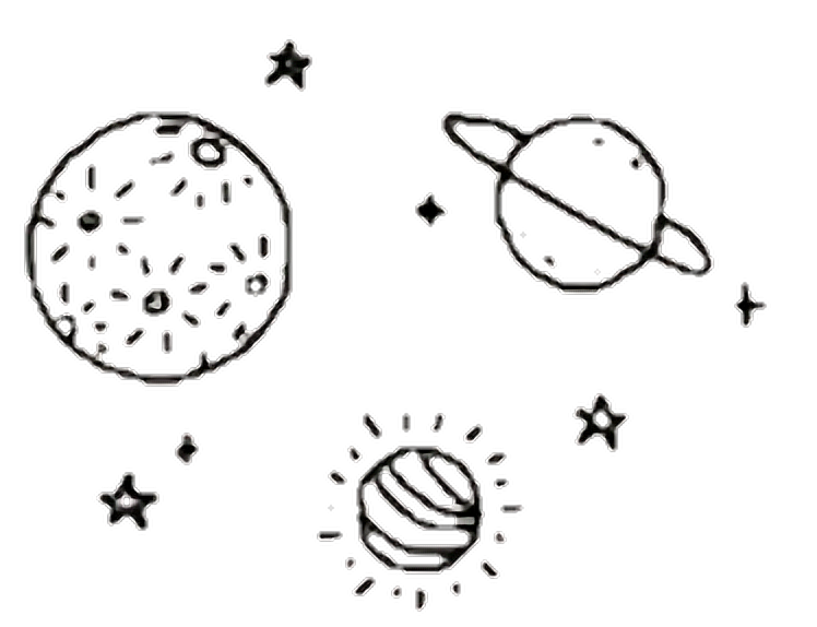#aesthetic #space #galaxy #cosmic #planets #stars