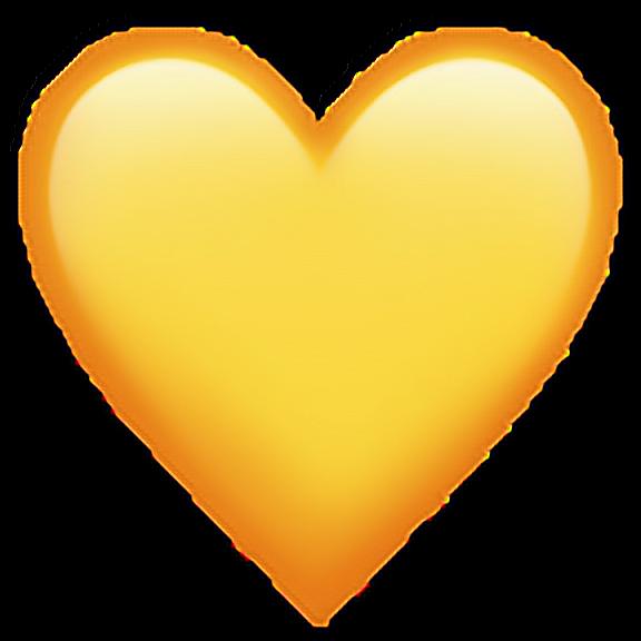 Yellowheartemoji Yellow Heart Emoji