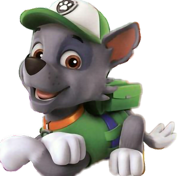 Rocky   Sticker By Bruna Paw Patrol