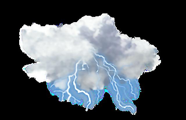 Cloud Thunder Rain Lighting Storm Stormy Rainy Nature