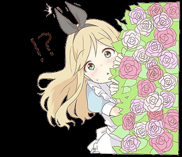 Alice Shy Animegirl Cute Kawaii Stalker Anime