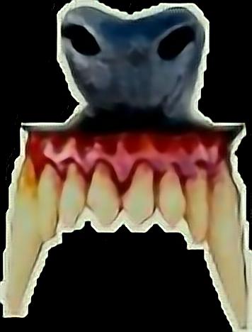 werewolf ftestickers teeth wolf nose fangs creepy horro