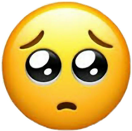 sad emoji sticker girl tumblr freetoedit...